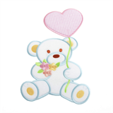 Large Motif: Baby: Bear with Balloon