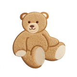 Large Motif: Baby: Teddy Bear