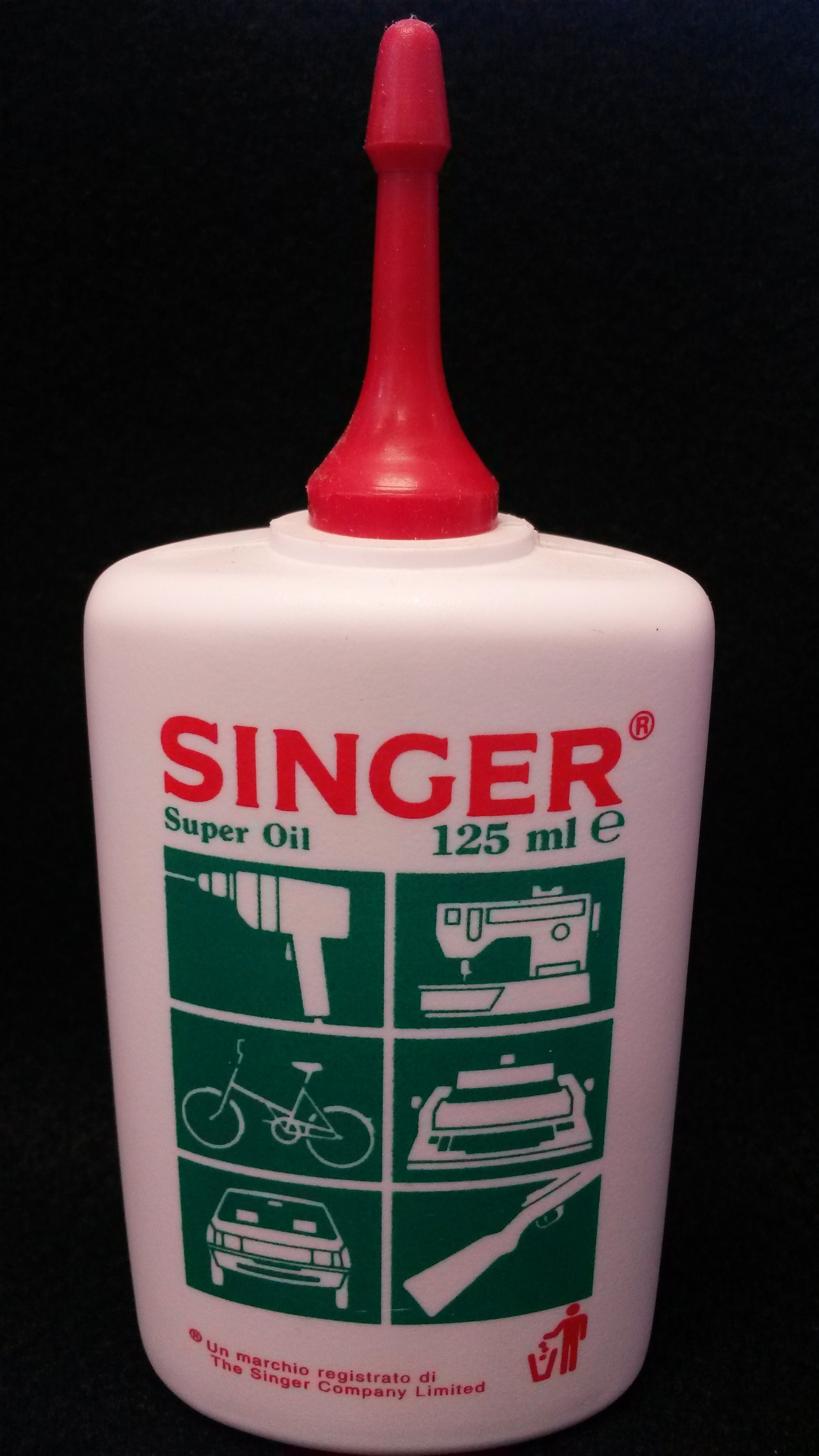 Singer Sewing Machine Super Oil