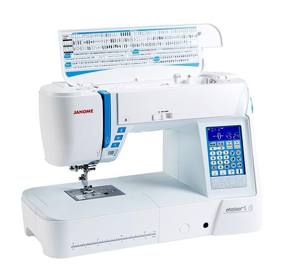 Janome atelier 5 fashion 119 home decor kit 139 free for Decor 99 sewing machine
