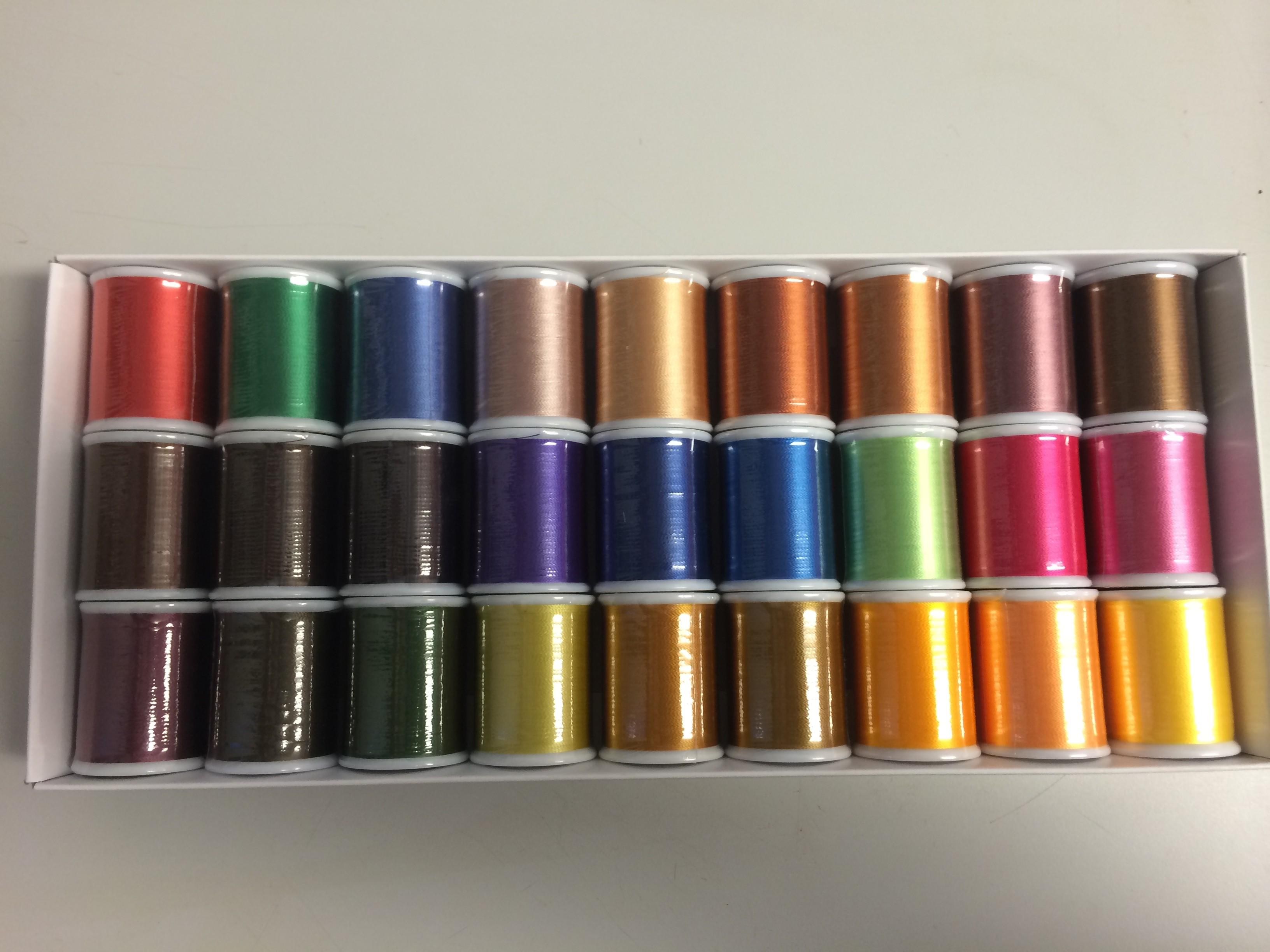 Janome Embroidery Thread (Box 3)
