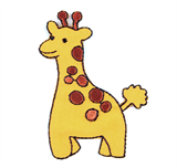 Craft Factory Iron or Sew On Fabric Motif Applique - Giraffe