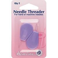 Needle Threader with Plastic Handle