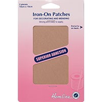 Cotton Twill Patches: Fawn - 10 x 15cm