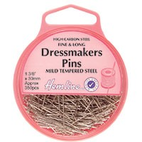Dressmaker Pin: Nickel - 30mm, 310pcs