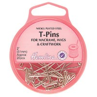 T-Pins: Nickel - 51mm, 20pcs