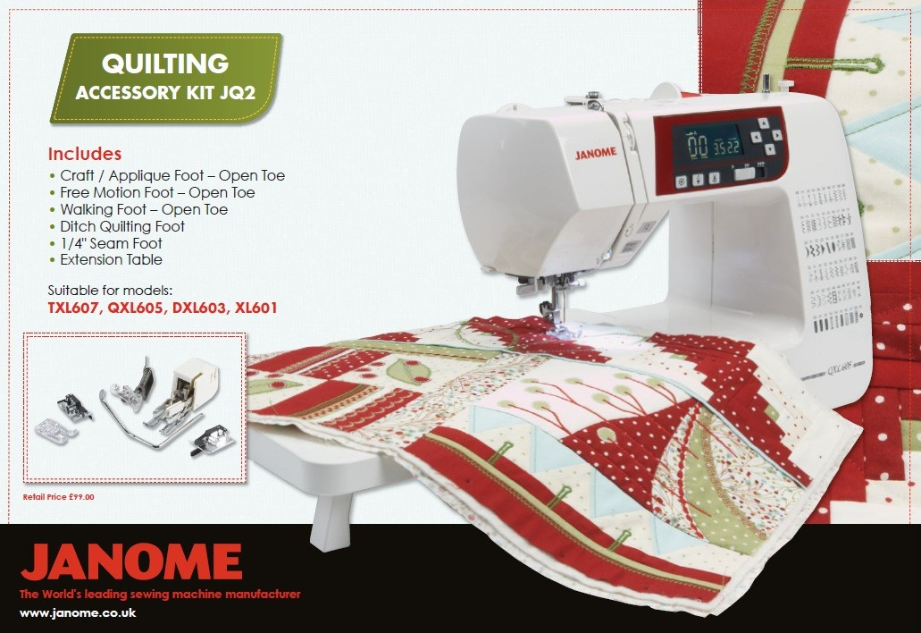 Janome Quilting Kit JQ2
