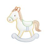 Large Motif: Baby: Rocking Horse