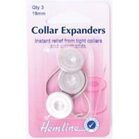 Collar Expanders: Metal - 19mm - 3pcs