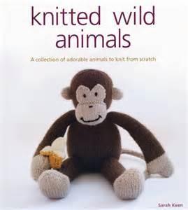 Knitted Wild Animals - Sarah Keen