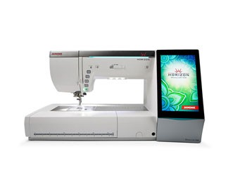 Janome Memory Craft 15000 with FREE DIGITIZER MBX V5