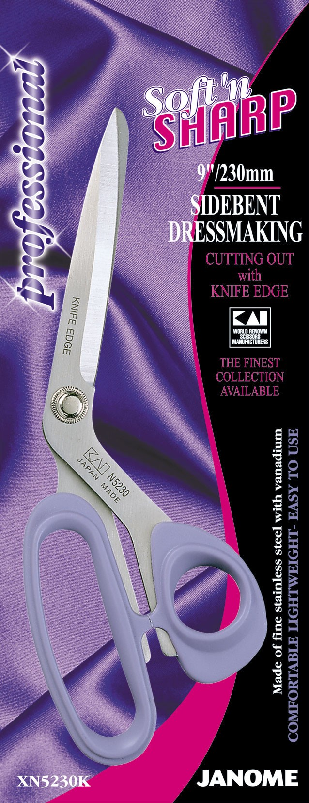 9 inch Soft'n Sharp Professional - Side-Bent Knife Edge Blade