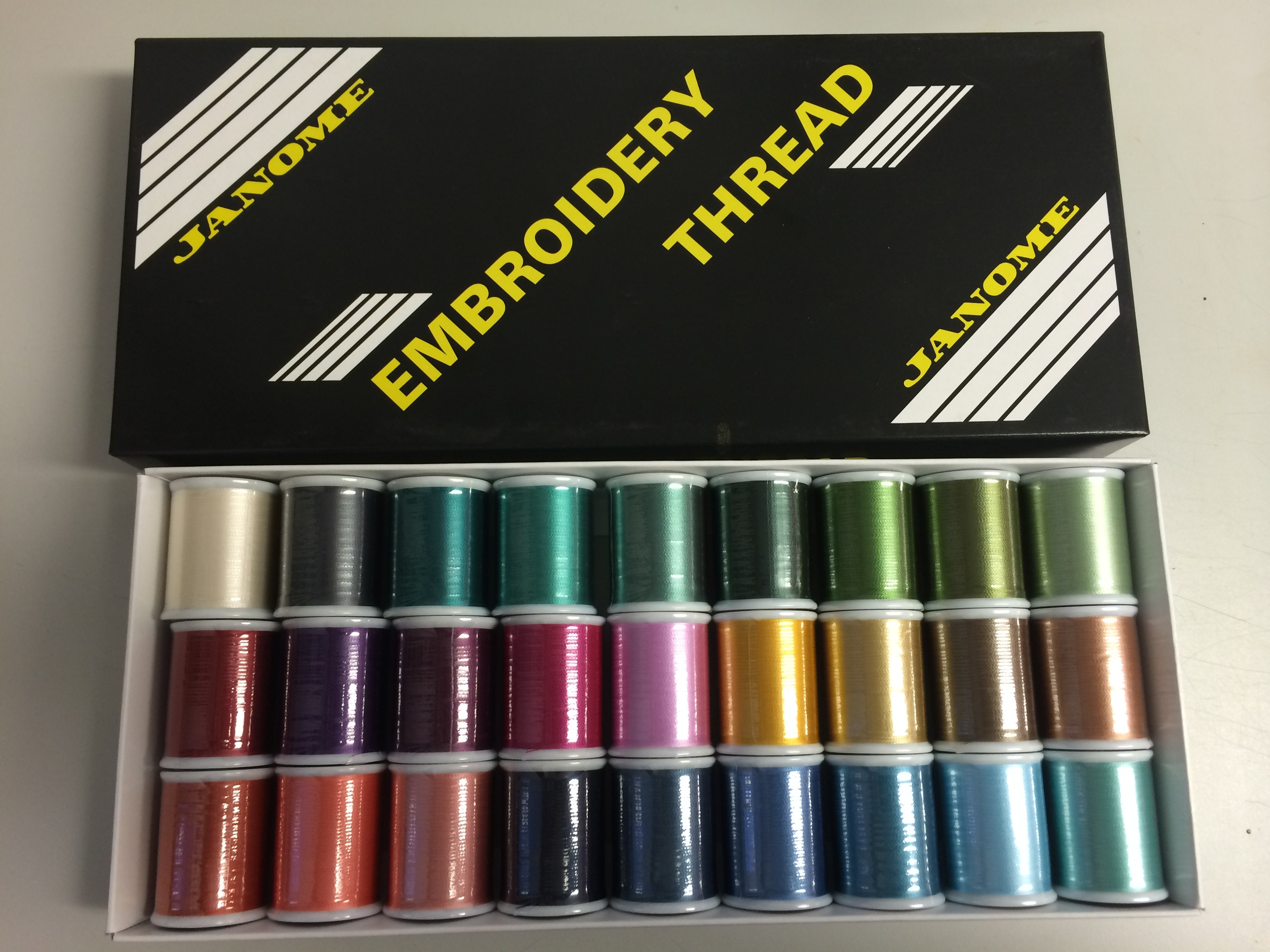 Janome Embroidery Thread (Box 2)