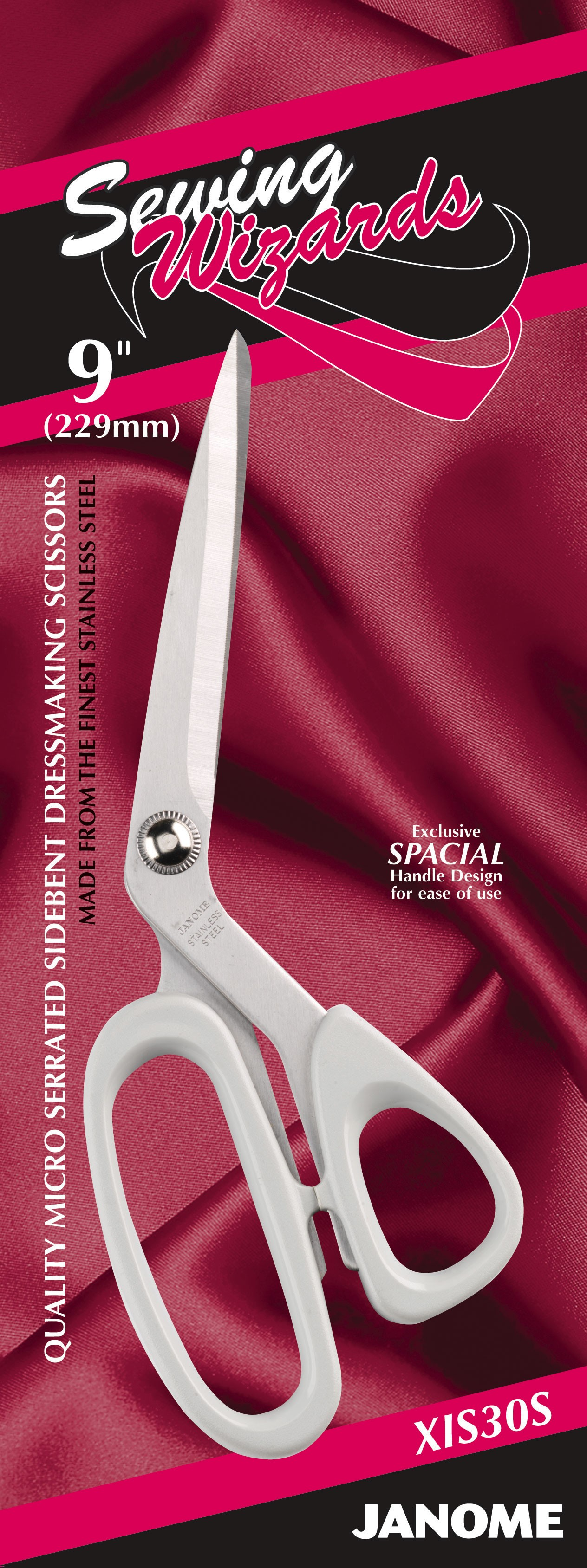 9 Inch Sewing Wizards - Dressmaking (Serrated)