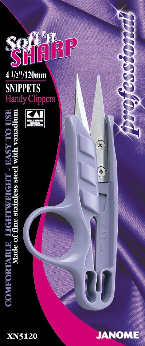 4.5 inch Soft'n Sharp Professional - Thread Snips/Finger Hole